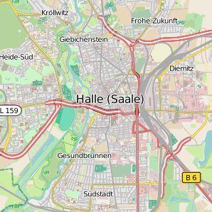 Halle Saale Karte.Energymap Halle Saale